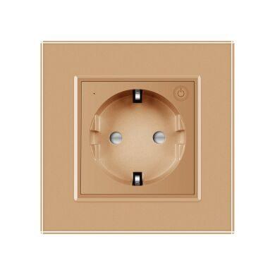 Livolo viedā elektrības kontaktligzda Zeltaina (Zigbee)