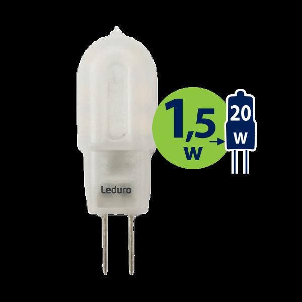 LED SPULDZE PL-G4-21051 1.5W 100lm 360* G4 2700K AC/DC12V