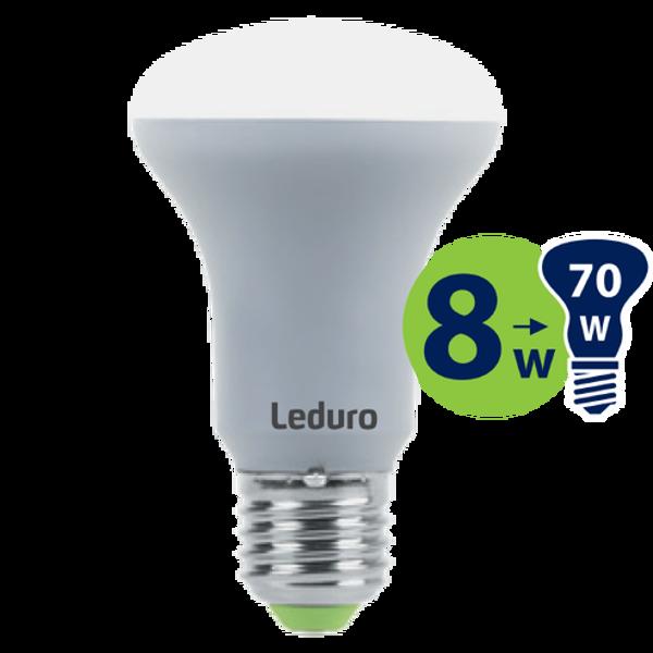 R63 LED SPULDZE PL-R63-21177 8W 550lm E27 180* 3000K 220-240V