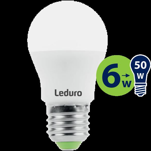 A50 LED SPULDZE PL-A55-21184 6W 500lm 360* E27 2700K 220-240V