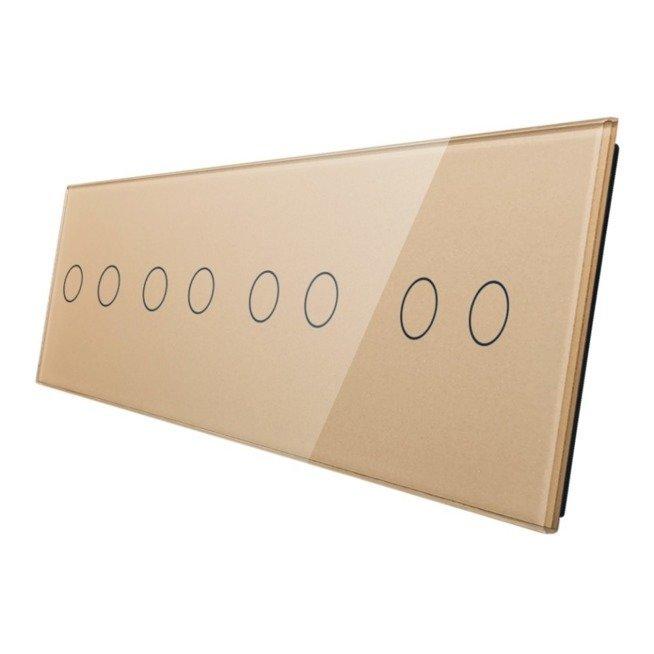 Livolo stikla panelis 2+2+2+2 702222