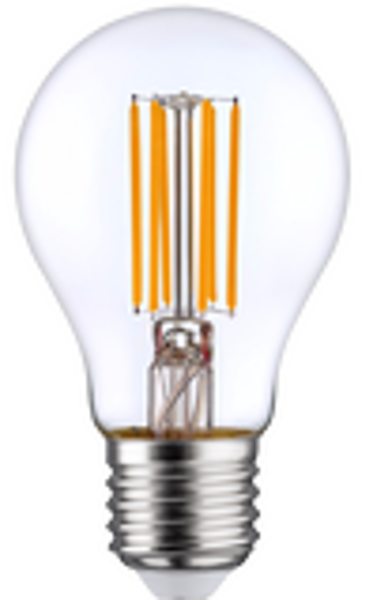 A60 LED FILAMENT FL-A60-70104 8W 1055lm 360° E27 2700K 220-240V