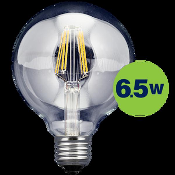 GLOBE LED FILAMENT FL-D95-70103 6.5W 806lm 360° E27 2700K 220-240V