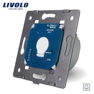 Сенсорный однолинейный выключатель с функцией дверного звонка, низковольтный 12/24V (модуль)