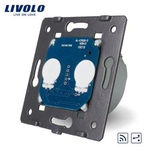 Livolo divpolu skārienjutīgais slēdzis- pārslēdzis, attālināti vadāms (REMOTE) WW-C702SR