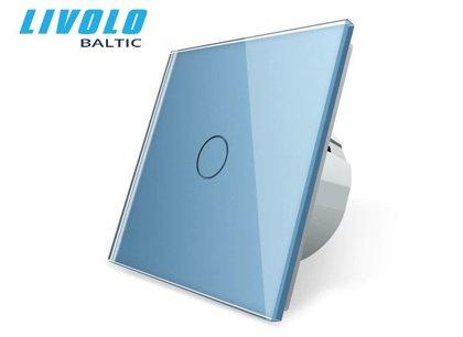Livolo vienpola skārienjutīgais slēdzis - Zils