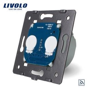 Livolo divpolu skārienjutīgais slēdzis- attālināti vadāms (REMOTE)- WW-C702R