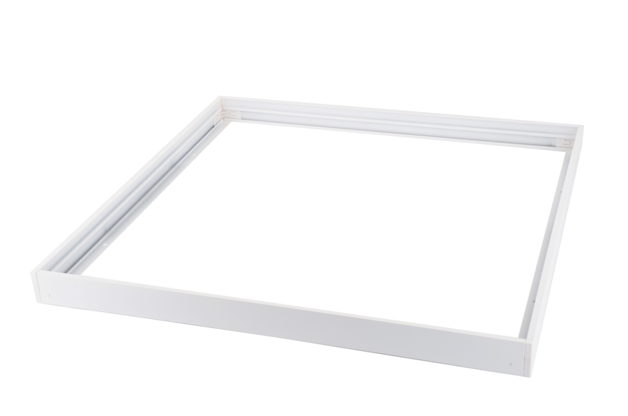 KIT 5 white frame for panels 600x600mm